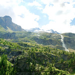 Plimabach Wasserfall von der Zufallhütte aus gesehen thumbnail