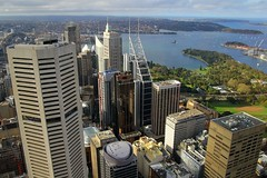 View From Centrepoint Tower, Sydney, September 13th 2014 (Southsea_Matt) Tags: australia newsouthwales september 2014 spring canon 60d centrepoint sydneytower view ventennialpark sydneyharbour