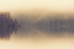 0820 Gently Foggy Morning (Hrvoje Simich - gaZZda) Tags: lake pond landscape outdoors noperson reflections fog mist morning travel bohinj slovenia europe nikon nikond750 nikkor283003556 hrvojesimich gazzda