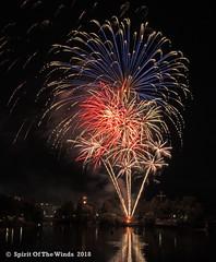 All Over The Place (jimgspokane) Tags: fireworks pyrotechnics spokanewashingtonstate spokaneriver independenceday the4thofjuly today´sbest