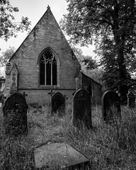 St Lawrence's Church Flaxton1 (jhotopf) Tags: churchyard flaxton blancoynegro northyorkshire blackwhite 20mmf18 d810 nikon noiretblanc