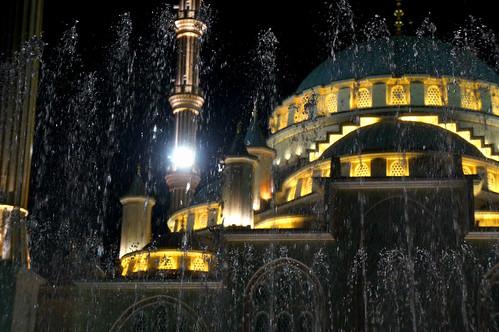 Islamic Mosque, Grozny 2. Chechen Republic, Russia