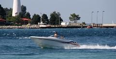Catch A Wave... (Daryll90ca) Tags: pointedward pointedwardontario ontario canada ontariocanada boat water lake