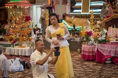 The lead event organizer, Saramany. (Thea Prum) Tags: fundraising buddhism glorybuddhist temple lowell nikon d750 85mm f14 cambodian