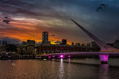 harbour sunset preset Serge (dgoldenberg52) Tags: purple orange argentina sunset harbor dusk buenos aires