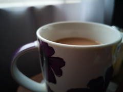 First Cuppa of the day (uk_dreamer) Tags: bokeh dof depthoffield closeup tea cup cuppa china detail depth morning huawei p20