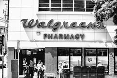 Walgreens (Thomas Hawk) Tags: america california missiondistrict sanfrancisco usa unitedstates unitedstatesofamerica walgreens bw pharmacy us fav10