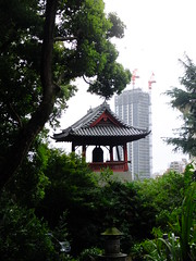 Ueno Park, Tokyo 2018. (108 108 108) Tags: ueno park view shrine temple