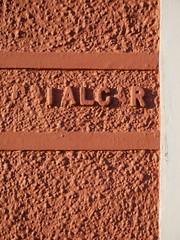Aberaeron (Dubris) Tags: wales cymru ceredigion aberaeron seaside coast town wall lettering trafalgar