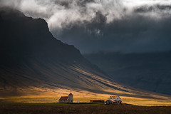 The Wave (albert dros) Tags: iceland travel church albertdros wave reykjavik cloudy storm