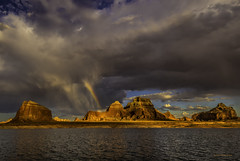 Lake Powell Rainbow (McKendrickPhotography.com) Tags: greatphotographers