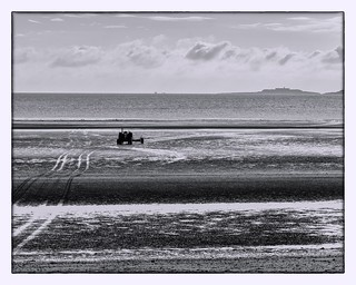 Tractor on the Beach