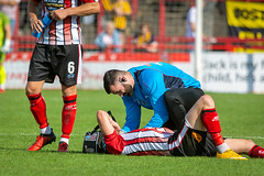 Altrincham FC vs Boston United - August 2018-144 (MichaelRipleyPhotography) Tags: altrincham altrinchamfc altrinchamfootballclub alty ball bostonunited community fans football footy goal header jdavidsonstadium kick mosslane nationalleaguenorth nonleague pass pitch preseason referee robins salfordcity save score semiprofessional shot soccer stadium supporters tackle team vanarama