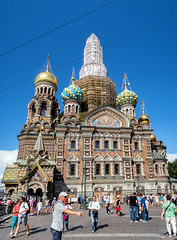 The Church of the Savior on Blood (Svetla (ribonka 78)) Tags: europe travel church russia stpetersburg