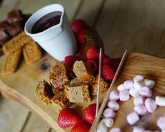 chocolate platter (quietpurplehaze07) Tags: 7dwfwednesdaysmacro chocolateplatter dessert publunch fordingbridge chocolate