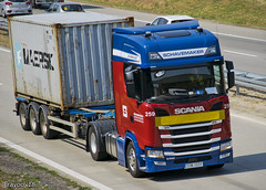 Schavemaker (NL) (Brayoo) Tags: nextgen scania container transport truck trans trucks tir lkw lorry camoin camioin euro6