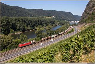 DB Cargo 185 228-4 @ Hammerstein