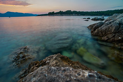 Croatia (silvia_mozzon) Tags: nature natura croatia croazia europa europe krk island isola travel travelphotography tramonto sunset water sea seashore mare spiaggia landscape landscapesseascapescityscapes laowa summer estate esteuropa est sony sonyalpha sonyalpha7 sonya7 manualfocus manuallens manuale 15mm wide wideangle balcani balkans longexposure lungaesposizione ☯laquintaessenza☯ rocce rocks paesaggio