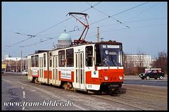 010-1992-03-08-1-Lange Brücke (steffenhege) Tags: potsdam vip strasenbahn streetcar tram tramway ckd kt4d 010