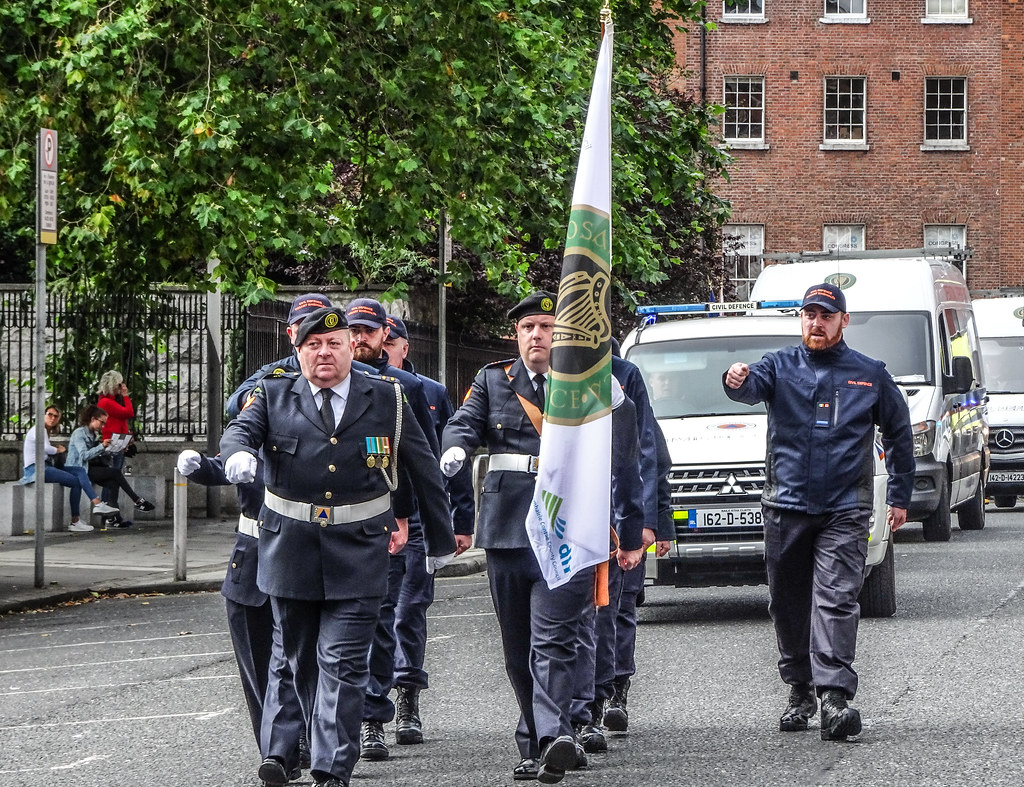 NATIONAL SERVICES DAY [PARADE STARTED OFF FROM NORTH PARNELL SQUARE]-143672