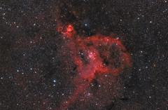 The Heart Nebula aka IC 1805 (aydinmustafa0605) Tags: nebula deepsky astrophotography astronomy