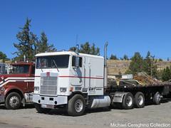 1987 Marmon cabover (Michael Cereghino (Avsfan118)) Tags: 1987 marmon coe cabover cab over engine sleeper truck semi