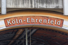 Köln-Ehrenfeld Station in Cologne (marcoverch) Tags: köln germany cologne deutschland ehrenfeld streetart nordrheinwestfalen de kölnehrenfeld station noperson keineperson architecture diearchitektur wood holz business geschäft text outdoors drausen indoors drinnen retro building gebäude travel reise old alt design education bildung university universität traditional traditionell signalise signalisieren antique antiquität style stil city stadt school schule eau auto eos september airplane cityscape happy day autumn