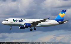 D-AICH | Airbus A320-212 | Condor (james.ronayne) Tags: daich airbus a320212 condor aeroplane airplane plane aircraft jet aviation flight flying hamburg ham eddh canon 80d 100400mm raw