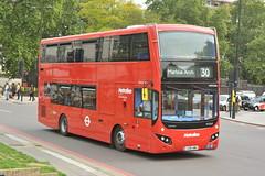 LK18 AMU (VMH2466) Metroline London (hotspur_star) Tags: londontransport londonbuses london bus2 londonbus londonbuses2018 mcvvolvoevoseti tfl transportforlondon hybridbus hybridtechnology busscene2018 doubledeck metrolinelondon lk18amu vmh2466 30