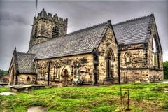St Oswalds Church, Bidston (James O'Hanlon) Tags: st oswalds church stoswaldschurch stoswaldschurchbidston stoswaldschurchwirral bidston wirral tone mapped map saint old parish
