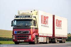 Volvo FH440 II Globetrotter / Klast Ltd. (UA) (almostkenny) Tags: lkw truck camion ciężarówka volvo fhii globetrotter drawbar tandem ua ukraine klastltd bx bx6108bi ex vanmaanen