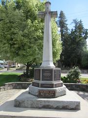 War memorial (jamica1) Tags: war memorial salmon arm shuswap bc british columbia canada cenotaph