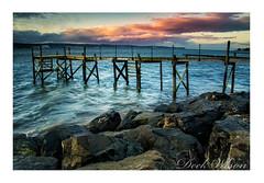 "Without ""Lee"" (Deek Wilson) Tags: holywood jetty belfastlough seascape water sky clouds rocks shoreline northernireland"