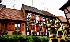DSC_0505 . RIBEAUVILLE . 68 Haut-Rhin . Ce village fait partie de la région historique et culturelle du Grand Est . (Q7 AUDI) Tags: fabuleuse