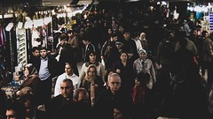 Crowd of underpass (sKame-rameha) Tags: people crowd street underpass shop souvenirs congestion turkey