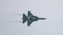 Showing the Flag (ƒliçkrwåy) Tags: 12138 pac jf17 thunder military aviation aircraft radom pakistan airforce