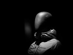 Human fashion (MortenTellefsen) Tags: human fashion monochrome minimalism bw blackandwhite blackandwhiteonly black monokrom svarthvitt utstilling dukke doll man hen nonhuman