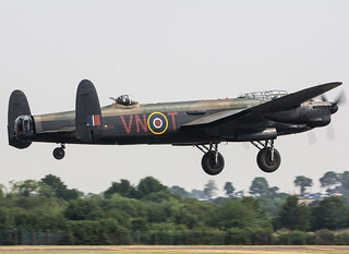 EGVA - Avro Lancaster - Royal Air Force - PA474