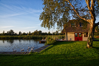House by the water