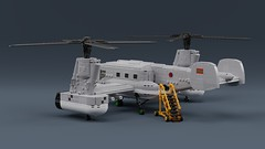 Ik-57d (ABS doohickies) Tags: ldd render lego stupidcopter military helicopter transnistria dc8 dc6