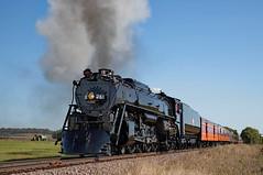 Approaching Bongards (jterry618) Tags: 25thanniversaryexcursionthe legend frank sandbergovert 484 alcoschenectady1944 americanlocomotivecompany bongards chicagomilwaukeestpaulpacific friendsof261 milw261 milwaukeeroad minnesota railroadingheritageofmidwestamericarhma steamlocomotive sandbergovertcwminneapolisglencoe