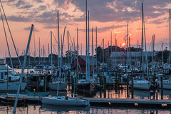 IMG_7791 (Fozzybeers) Tags: sunrise annapolis annapolismd maryland sailing water sail sailboat dawn bay landscape eastcoast yacht canon early boats beautiful beautifullight beautifulsky boating chesapeake clouds colors summer