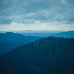 Koli (miemo) Tags: europe finland northkarelia clouds em5mkii hills nature olympus olympus40150mmf456 omd silhouette sky summer telephoto travel trees lieksa fi