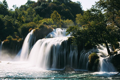 Krka National Park (Marta Marcato) Tags: waterfall water green trees motion motionblur blue white nikond7200 nature croatia nationalpark park