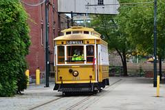 Lowell Heritage Trolley #4131 (Jim Strain) Tags: jmstrain trolley tram streetcar lowell massachusetts nationalhistoricpark