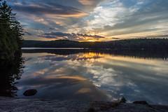 Algonquin (Douger S) Tags: sunset water algonquin