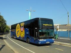 KX14 HTU, Megabus Van Hool Altano TX21 (miledorcha) Tags: megabus megabuscom stagecoach group midland red south belgium 55015 sgbc sg40 gloucestershire bus coach patchway bristol contractor hhy195 kx14htu van hool altano tx21 tdx21a integral twin deck m6 falmouth london service express low cost travel coaches coaching west newquay cornwall kernow psv pcv lhd