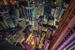 Rooftops (mcalma68) Tags: hong kong skyline skyscrapers cityscape nightphotography aerial