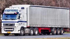 AB43252 (13.04.19)_Balancer (Lav Ulv) Tags: 130173 nordjyskautotrans white volvo volvofh fh3 fh460 e5 euro5 2012 6x2 kelbergtrailer curtainside planentrailer gardintrailer truck truckphoto truckspotter traffic trafik verkehr cabover street road strasse vej commercialvehicles erhvervskøretøjer danmark denmark dänemark danishhauliers danskefirmaer danskevognmænd vehicle køretøj aarhus lkw lastbil lastvogn camion vehicule coe danemark danimarca lorry autocarra danoise trækker hauler zugmaschine tractorunit tractor artic articulated semi sattelzug auflieger trailer sattelschlepper vogntog motorway autobahn motorvej vibyj highway hiway autostrada 3axletrailer
