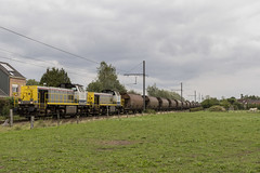 LINΞΛS 7725 Lier (Belgian Trainspotter) Tags: lineas hlr77 zandtrein lommel muizen lier l13 goederen diesel freight trein train